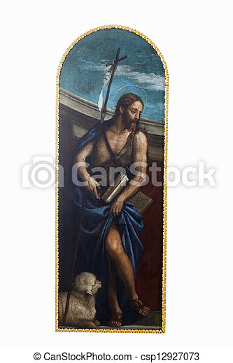 St. John the Baptist - csp12927073