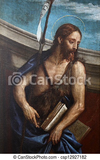St. John the Baptist - csp12927182
