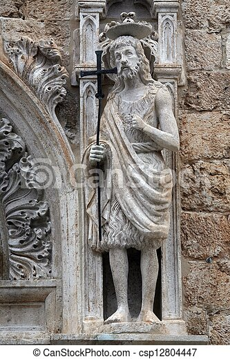 St. John the Baptist - csp12804447