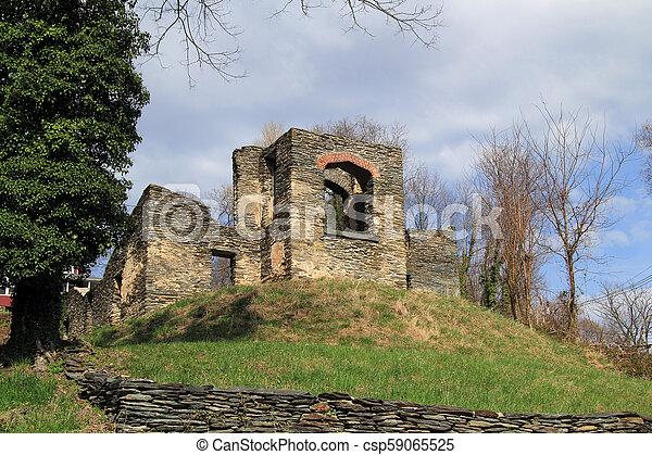 St. John's Episcopal Church Ruins - csp59065525