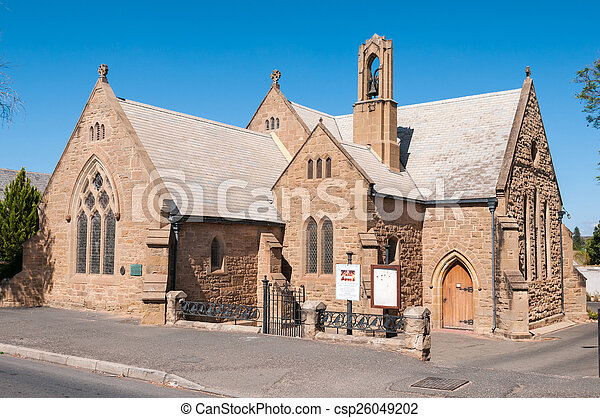 St. Judes Anglican Church in Oudtshoorn - csp26049202