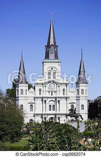 St. Louis Cathedral - csp0682074