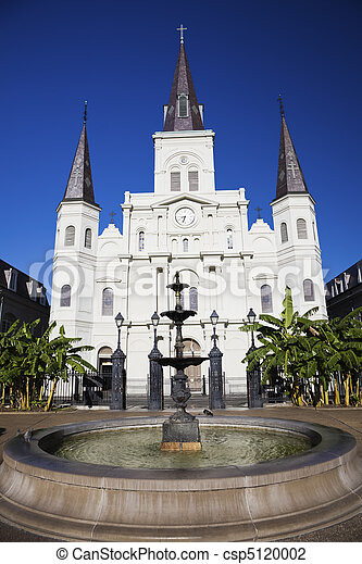 St. Louis Cathedral   - csp5120002