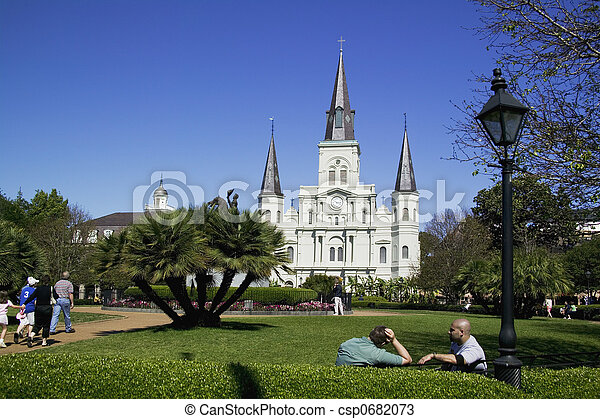 St. Louis Cathedral - csp0682073