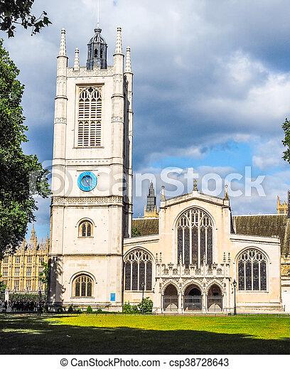 St Margaret Church in London HDR - csp38728643