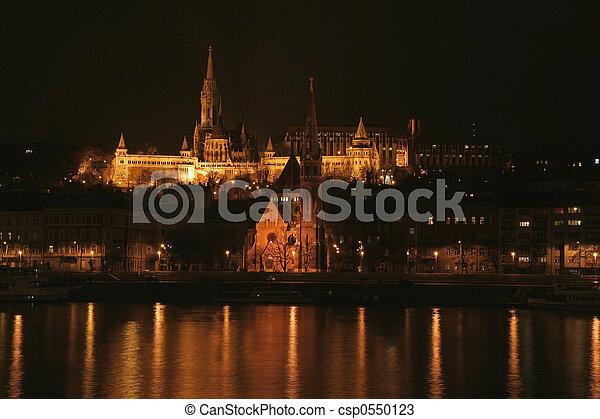 St. Matthias church in Budapest - csp0550123