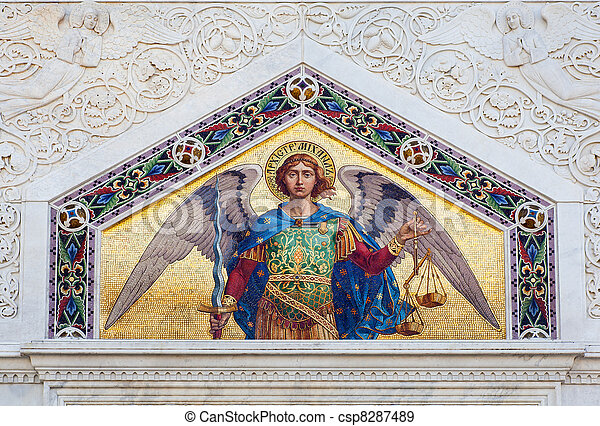 St. Michael the Archangel - csp8287489