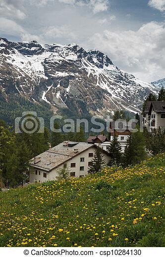 St. Moritz, Switzerland - csp10284130