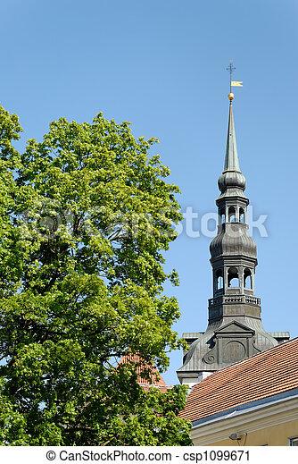 St Nicholas Church Spire - csp1099671