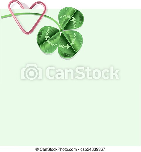 St. Patrick Day background - csp24839367