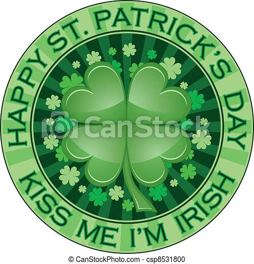 St. Patrick Day Design - csp8531800