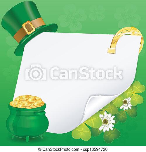 St. Patrick Day - csp18594720