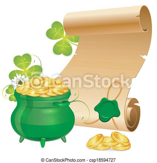 St. Patrick Day - csp18594727