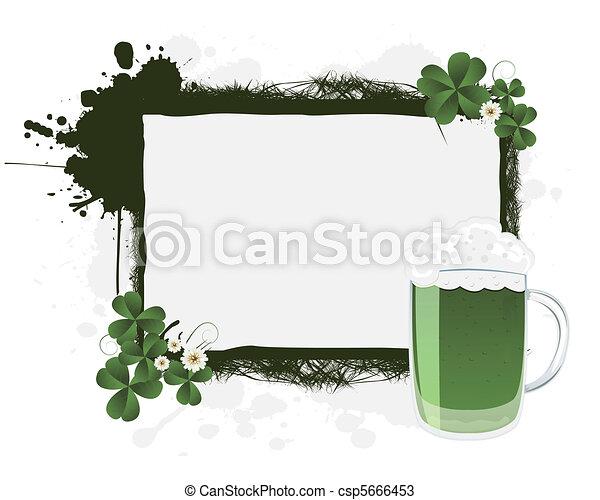 St. Patrick's banner - csp5666453