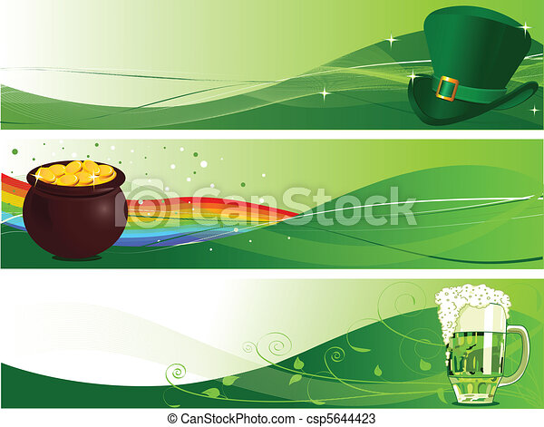 St. Patrick's Banners - csp5644423