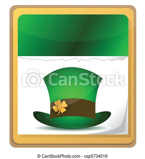 St. Patrick's Calendar - csp5734019