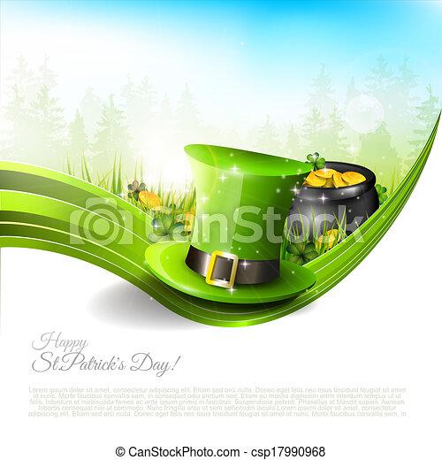 St Patrick's Day background - csp17990968