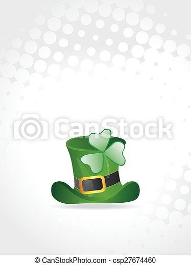 St. Patrick's Day Background - csp27674460