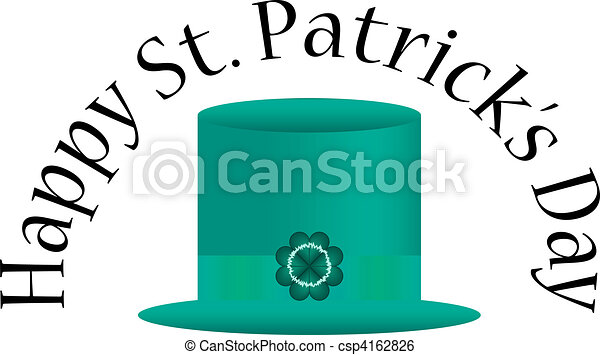 St. Patrick's Day Background - csp4162826