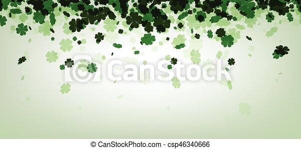 St. Patrick's day background. - csp46340666