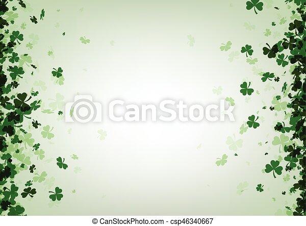 St. Patrick's day background. - csp46340667