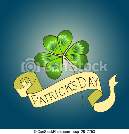 St. Patrick's Day background. - csp12817753