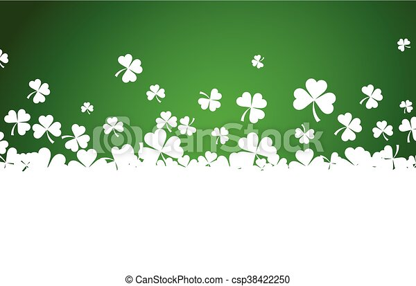St. Patrick's day background. - csp38422250