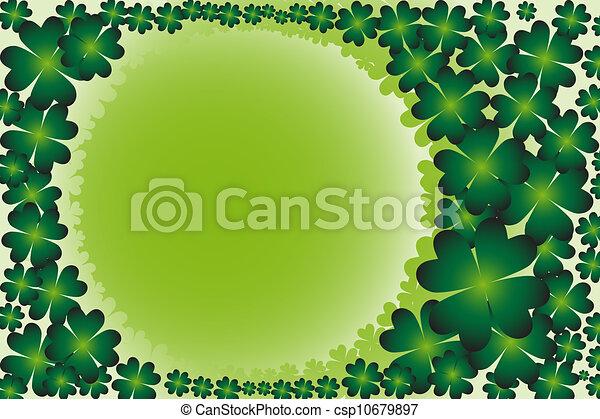 St Patrick's Day background - csp10679897