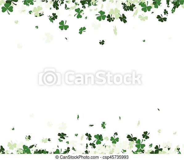 St. Patrick's day background. - csp45735993