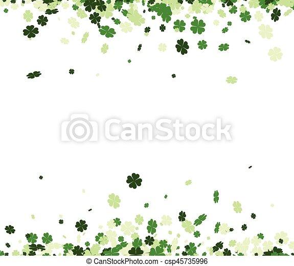 St. Patrick's day background. - csp45735996