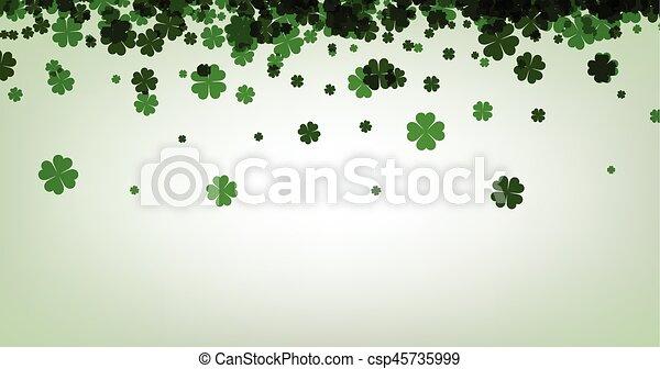St. Patrick's day background. - csp45735999
