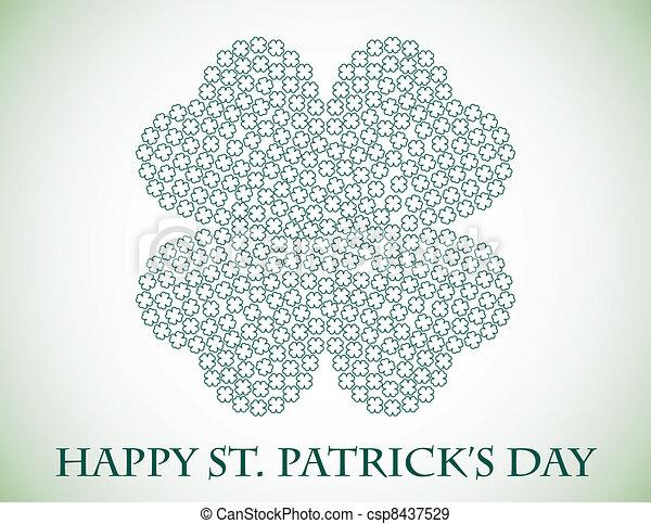 St. Patricks Day Background - csp8437529