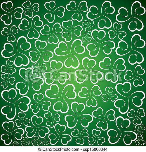 St Patricks Day background - csp15800344