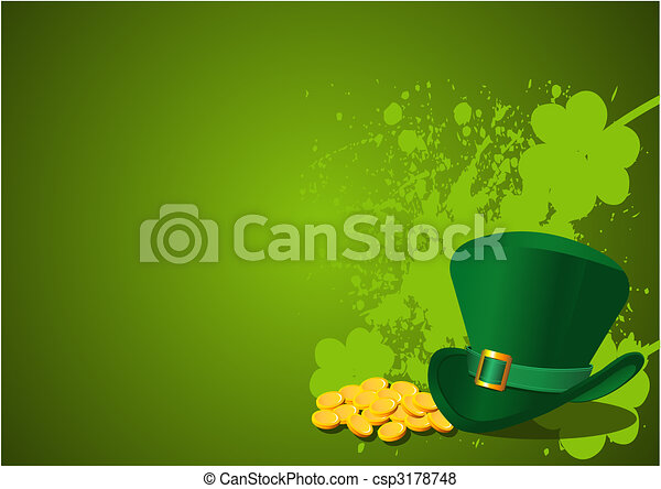 St. Patrick's Day Background - csp3178748