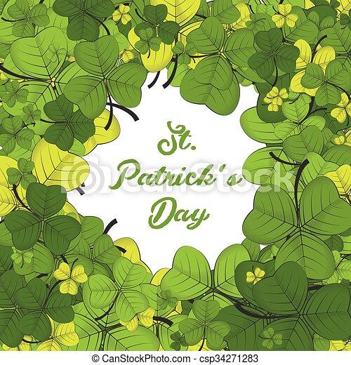 St Patricks day background - csp34271283
