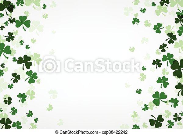 St. Patrick's day background. - csp38422242