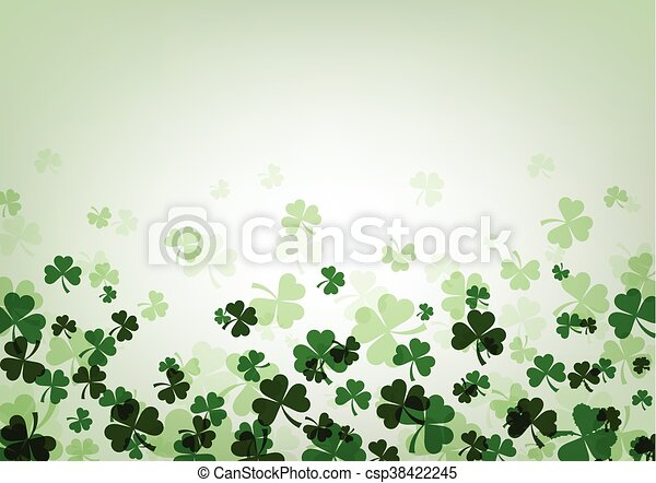 St. Patrick's day background. - csp38422245