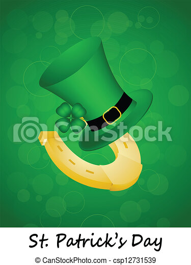 St. Patricks Day background - csp12731539