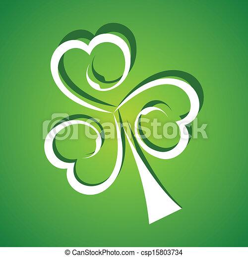 St Patricks Day background - csp15803734