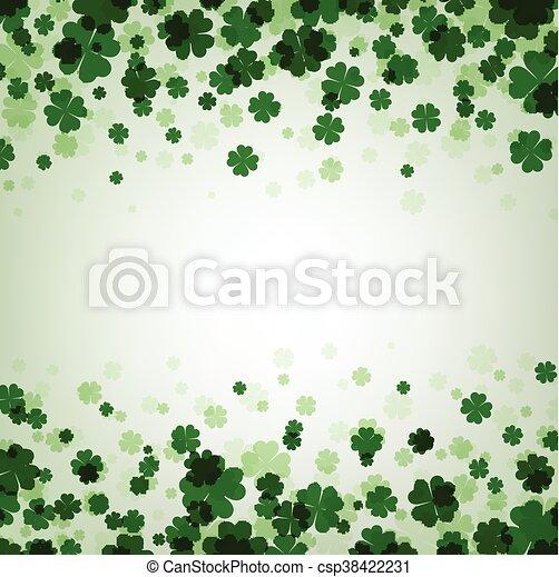 St. Patrick's day background. - csp38422231