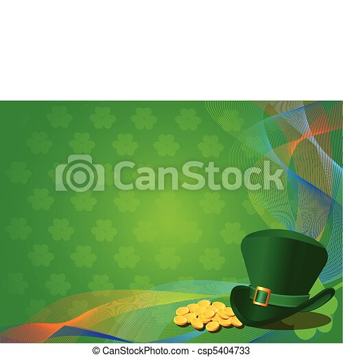 St. Patrick's Day Background - csp5404733