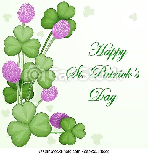 St. Patrick's Day background - csp25534922