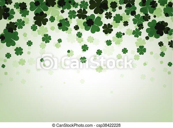 St. Patrick's day background. - csp38422228