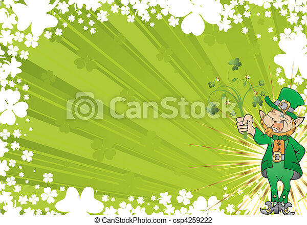 St. Patrick's Day Background - csp4259222