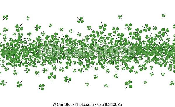 St. Patrick's day background. - csp46340625