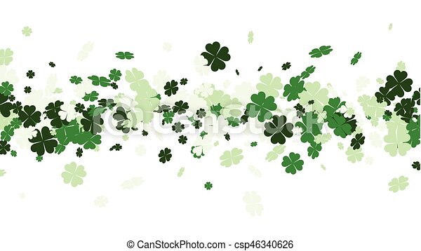 St. Patrick's day background. - csp46340626
