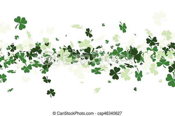 St. Patrick's day background. - csp46340627