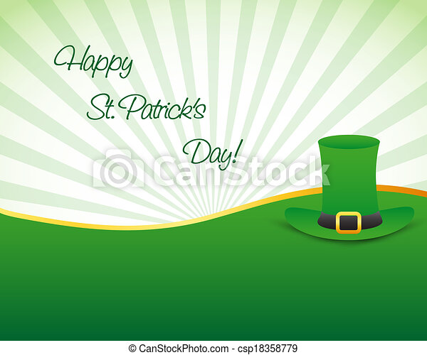 St. patrick's day background - csp18358779