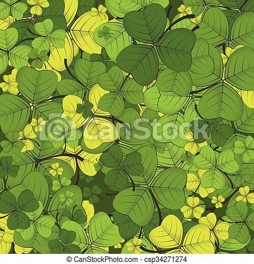 St Patricks day background - csp34271274