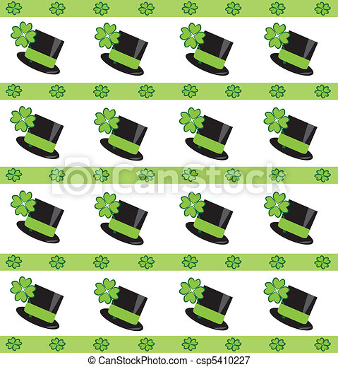 St Patricks Day Background - csp5410227